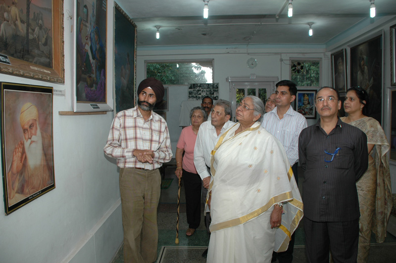 Sir Shobha Singh art gallery