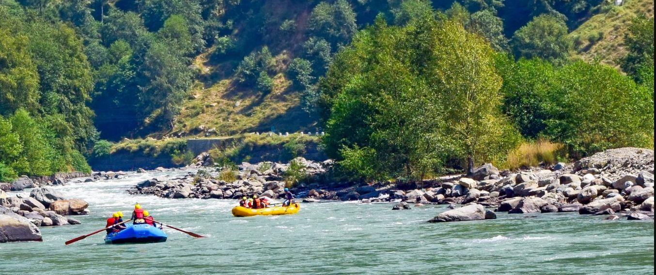 kullu river rafting